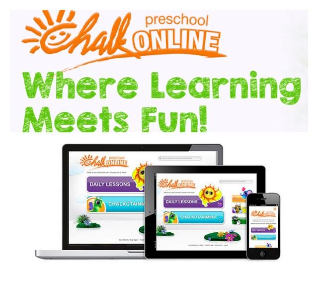 CHALK Online Preschool Savvy Sassy Moms
