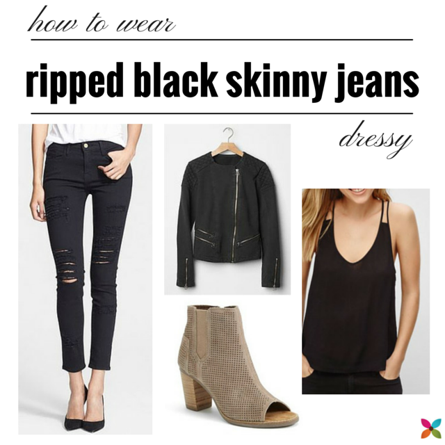 Jul 06, · Black skinny jeans can work with heels or flats. It is really up to you, we can't really tell what is going to look nice on you, but you! So, I would suggest just trying on different tops and shoes to see what looks northtercessbudh.cf: Resolved.