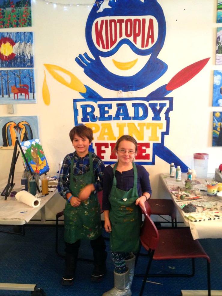 MckEnna Hudson Ready Paint Fire Keystone Art Camp