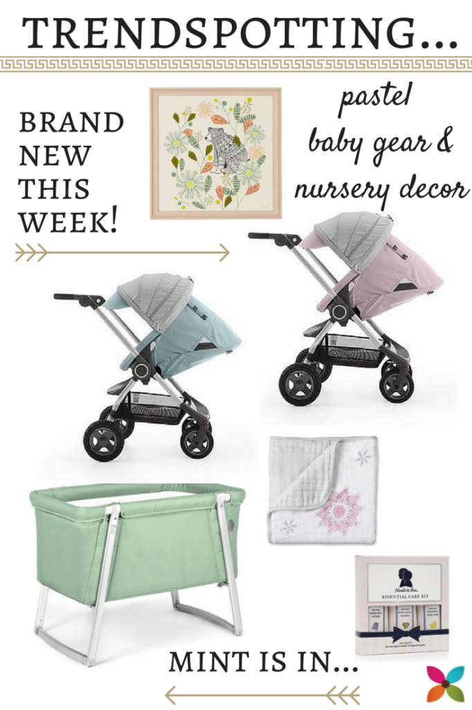 Pastel Baby Gear & Nursery Decor