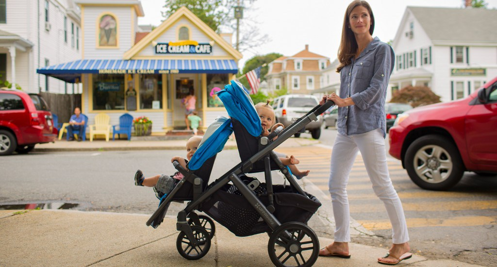 UPPAbaby Vista 2015 in doubles mode