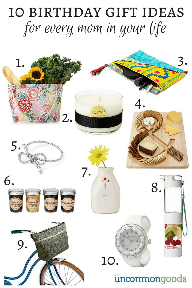 10 Birthday Gifts For Moms From UncommonGoods