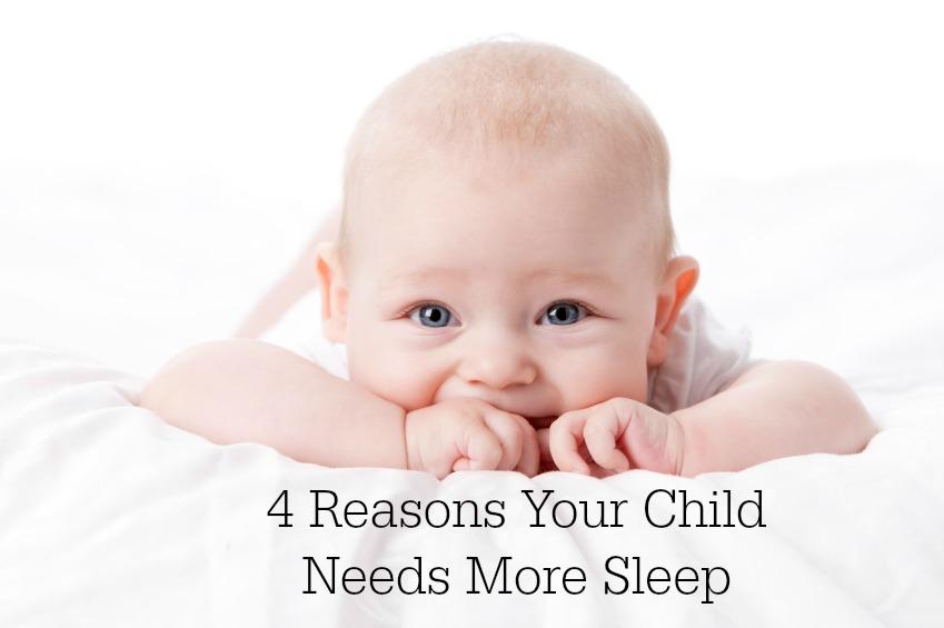 4 Reasons Babies Need Sleep