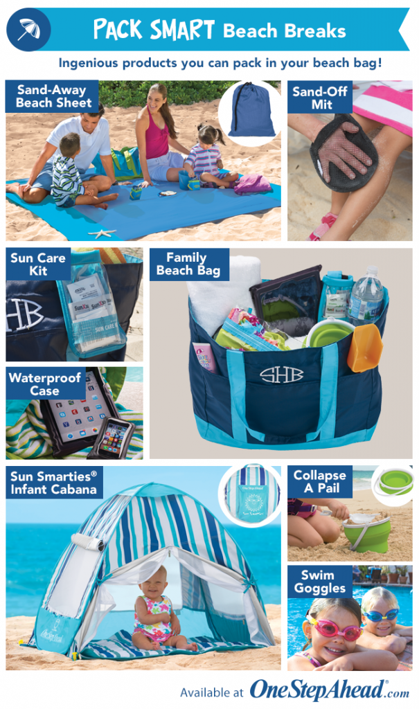 8 Spring break essentials from One Step Ahead
