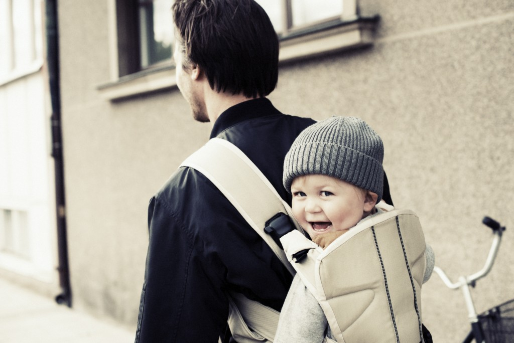 Baby Carrier One - KhakiBeige, Cotton Mix
