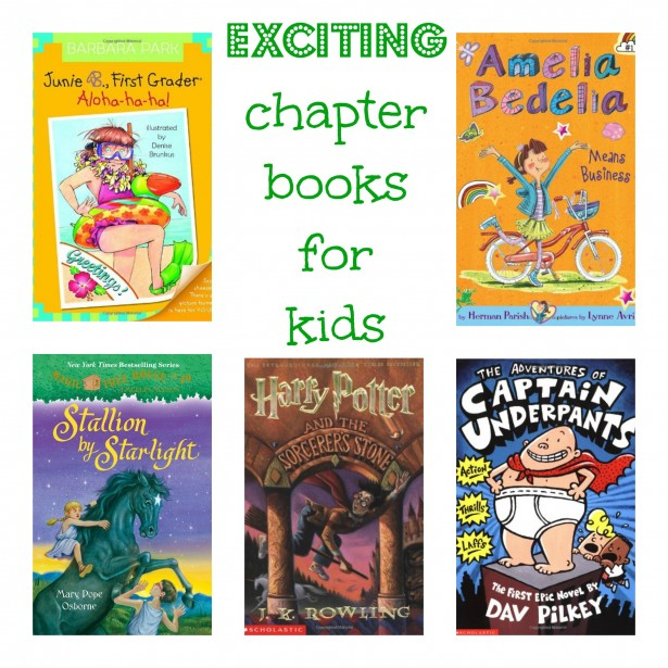 Exciting chapter books