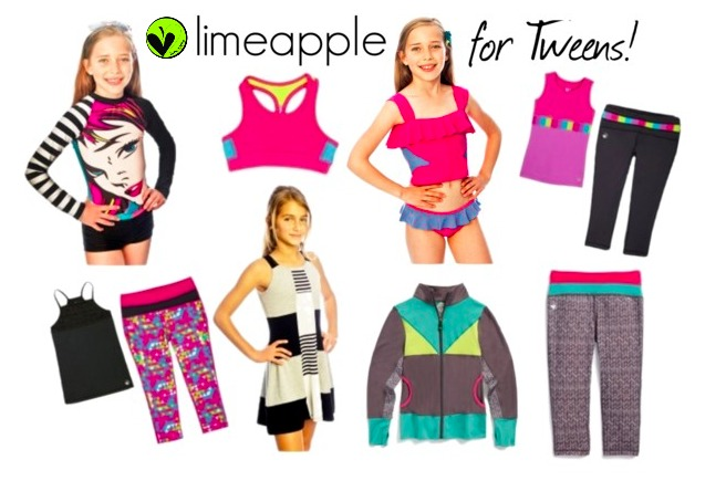 Limeapple Active Wear for girls and tweens