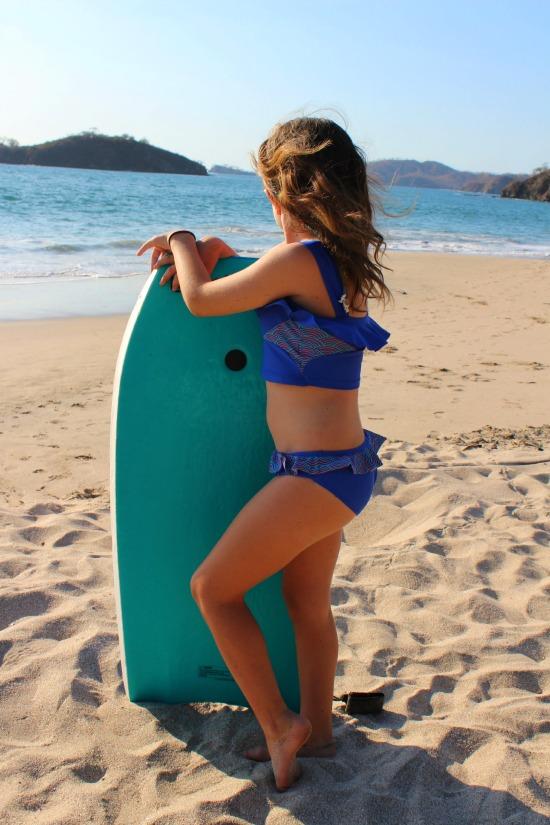 Limeapple Blue Swimsuit Mckenna 2