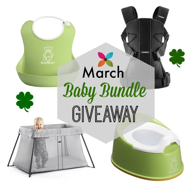 March Baby Bundle Giveaway Baby Bjorn