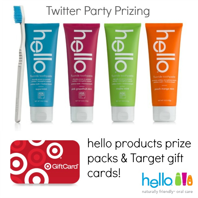 hello products twitter party prizing