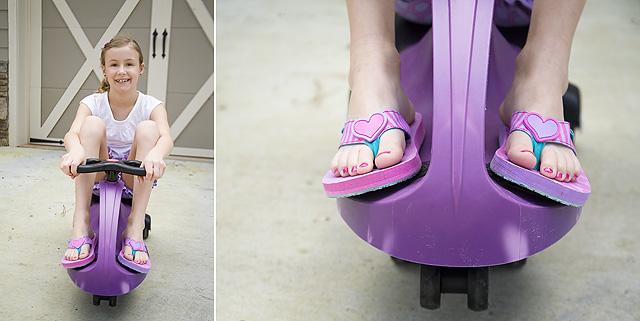 Cute flip-flops for girls