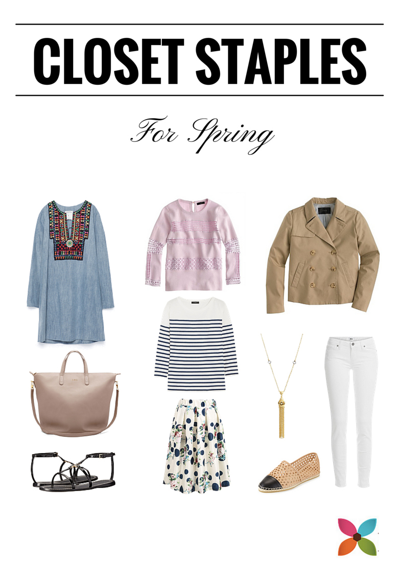 10 Closet staples for spring