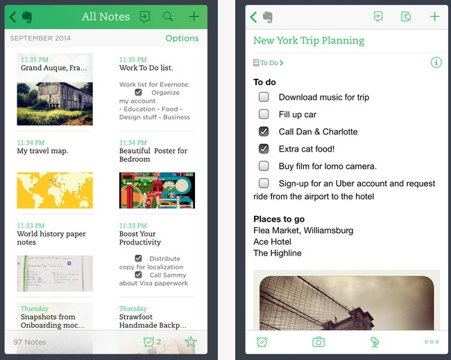Time-Saving Apps: Evernote