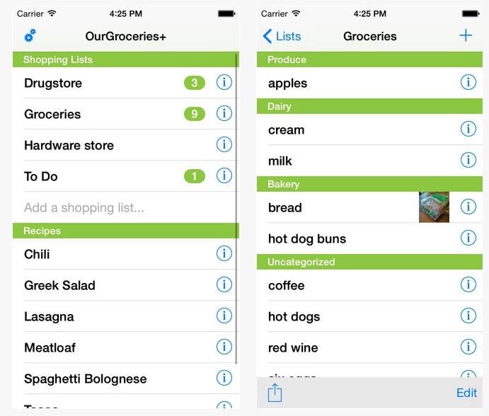 Time-Saving Apps: OurGroceries App