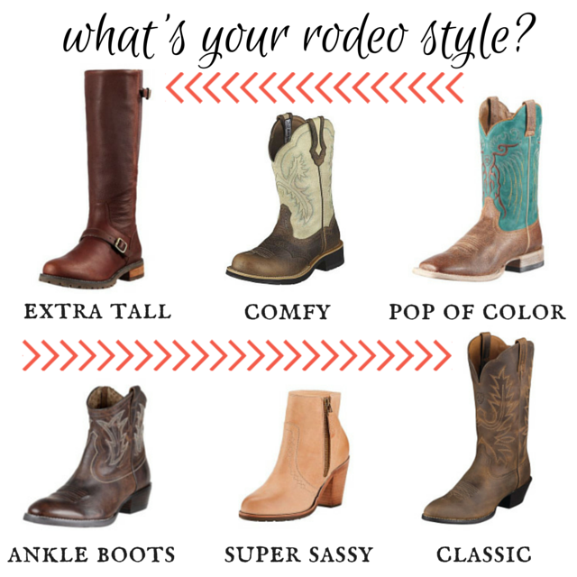 Rodeo Style Boots from The Longest Ride