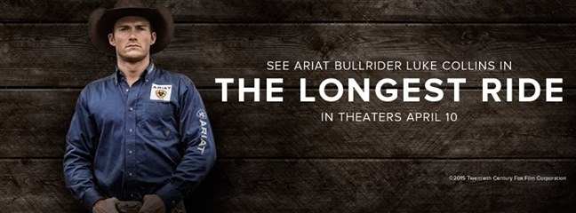 The Longest Ride Ariat Banner