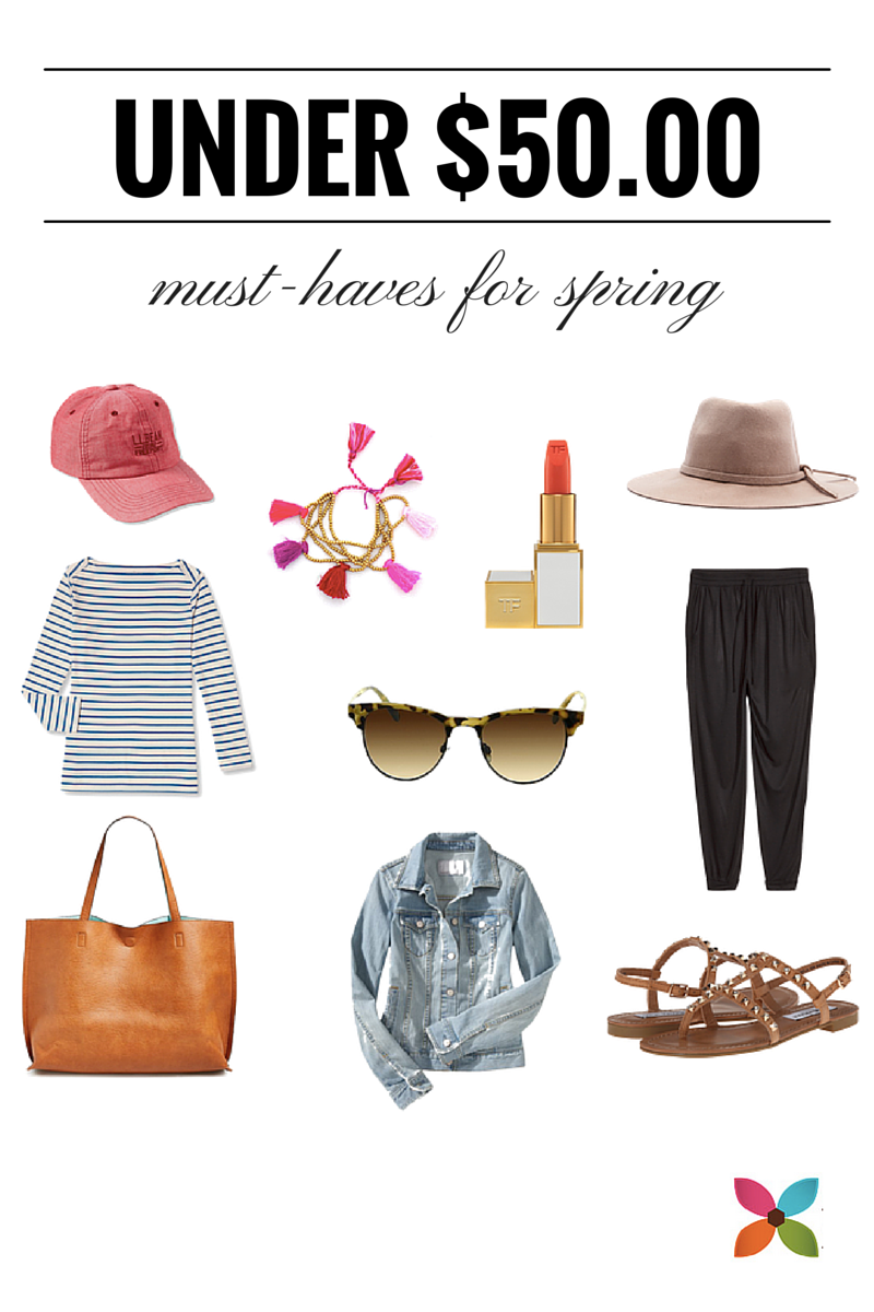 Spring Fashion Finds for Under $50