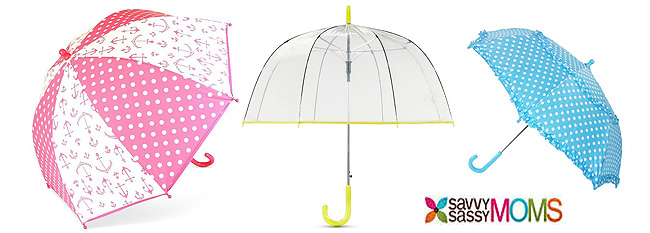 The cutest umbrellas for kids