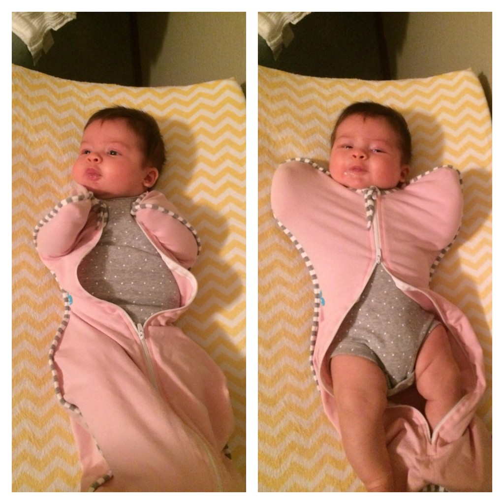 Love to Dream Swaddle UP- Zipper goes up AND down for easy diaper changes!