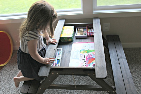 KidKraft garden table art station