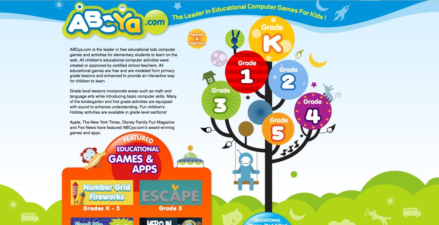 Websites for Preschoolers: ABCYa.com
