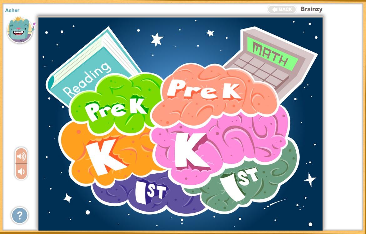 Websites for Preschoolers: Brainzy