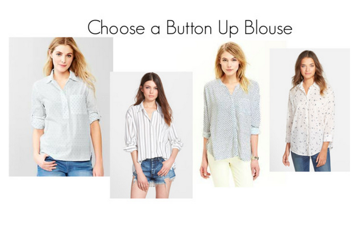 Button Up Blouse Travel Style