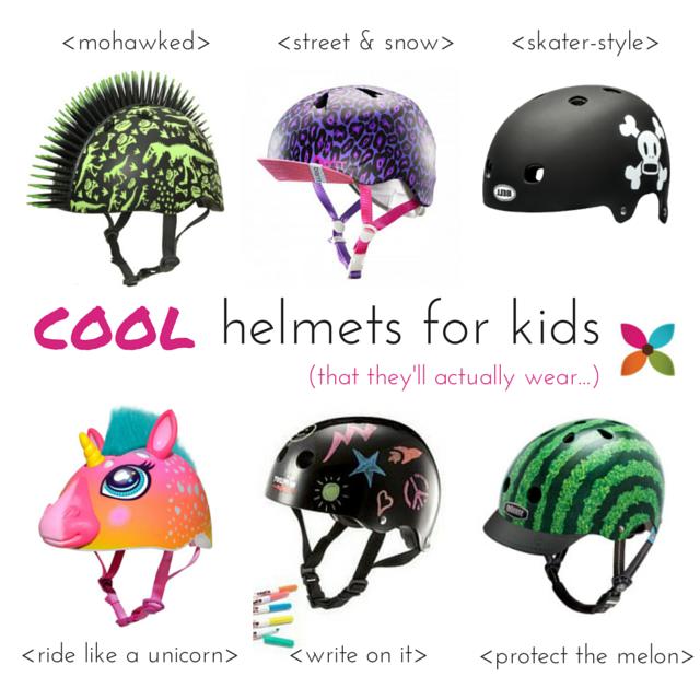 Cool Bike Helmets for Kids