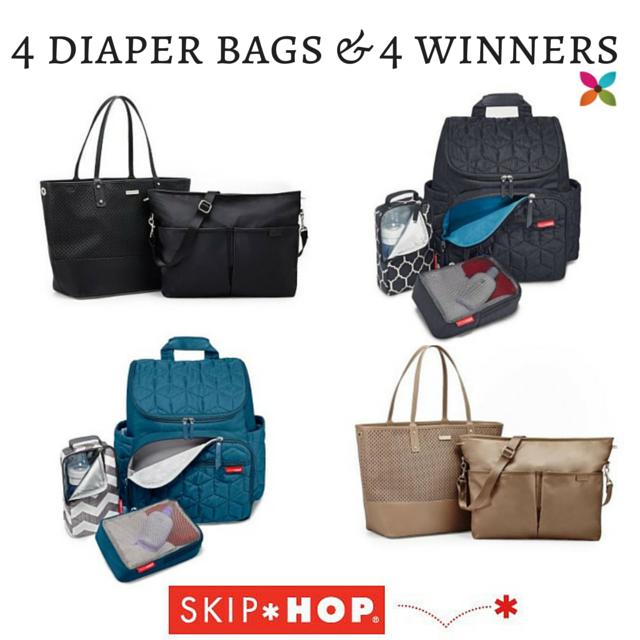 Skip Hop Diaper Bag Giveaway
