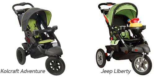Jeep Liberty Stroller is now the Kolcraft Adventure