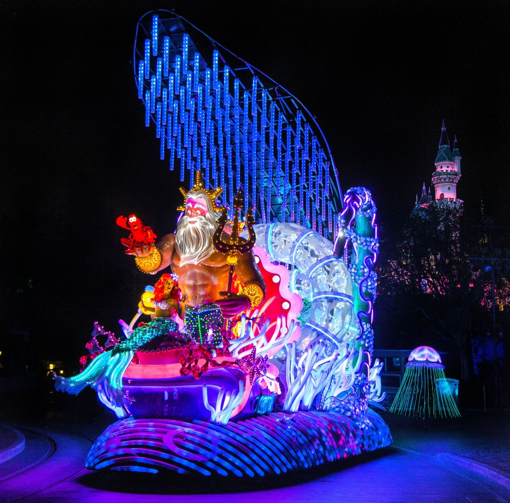 Disneyland's new Light the Night Electric Parade