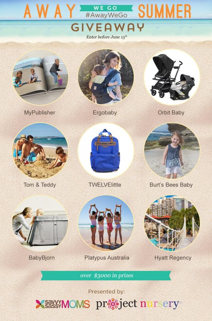 #AwayWeGo Summer Travel Giveaway