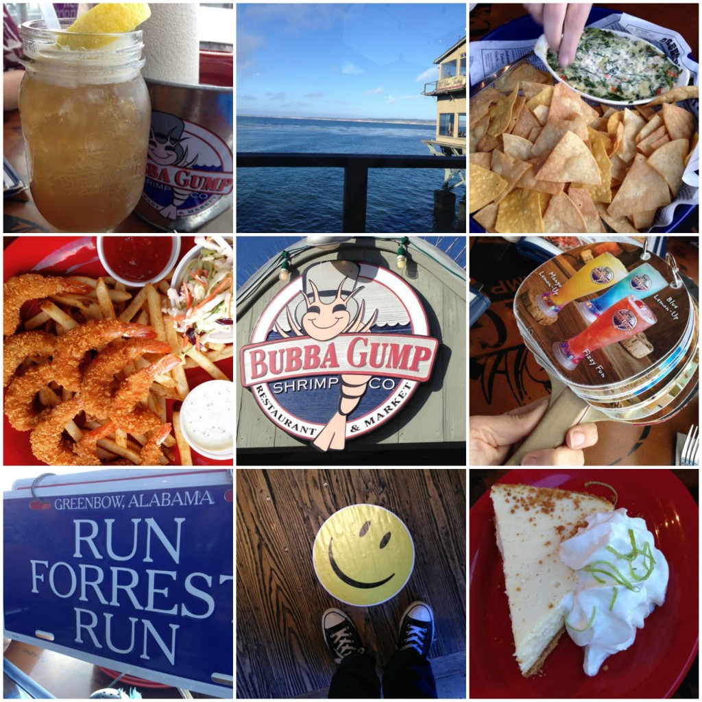 Where to eat with kids in Monterey: Bubba Gump Shrimp Co.