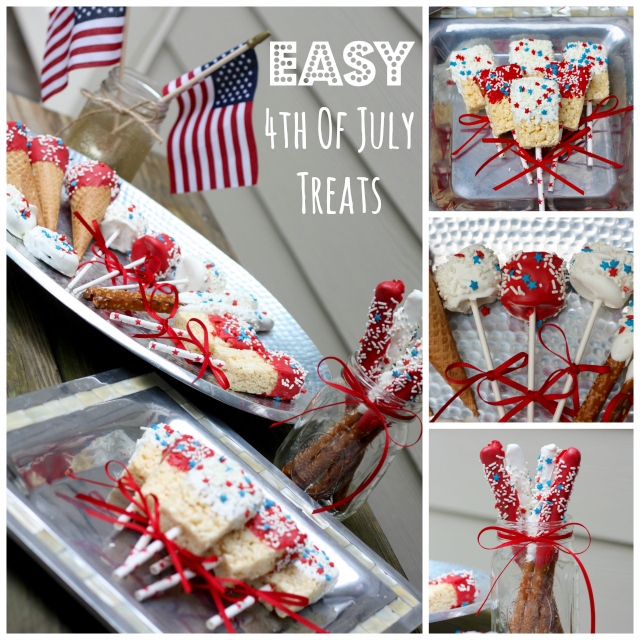 Easy 4th of July Treats