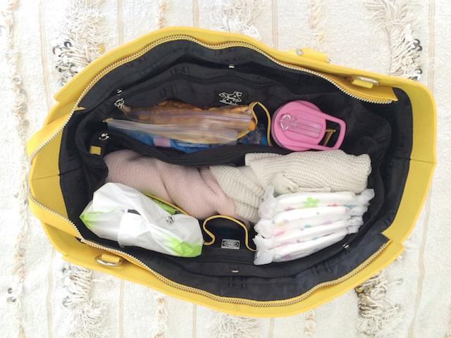 Inside the Nova Harley Brisbane Diaper Bag