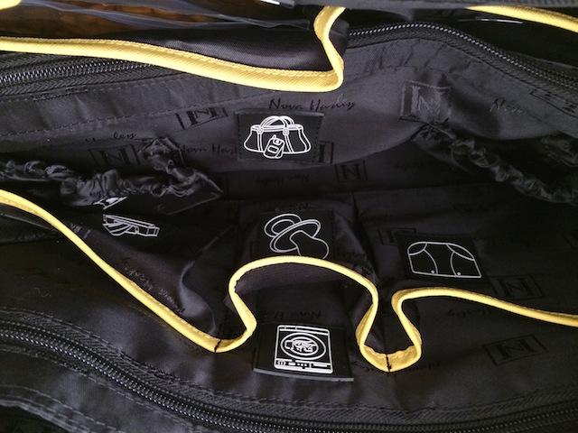 Look Inside: Nova Harley Diaper Bag