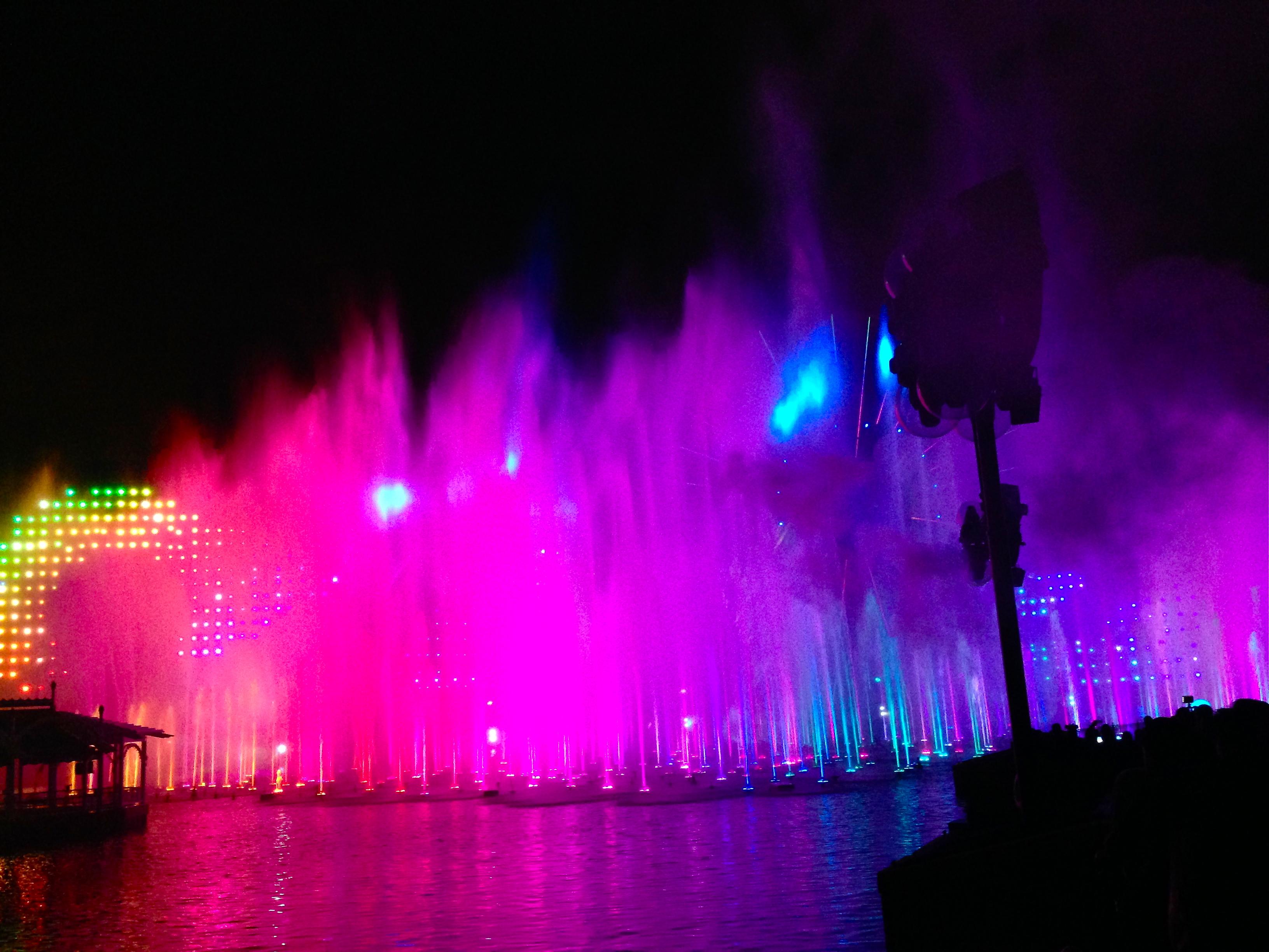 World of Color lights