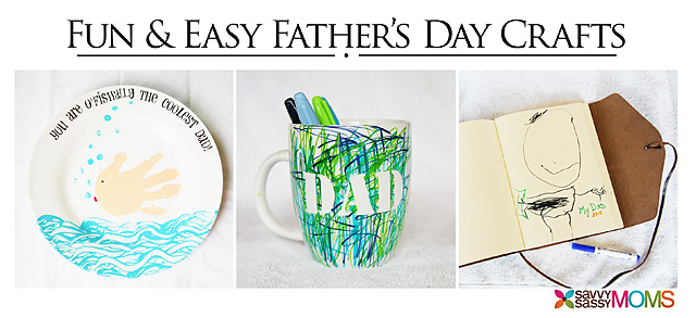 3 Fun and Easy Father's Day Crafts