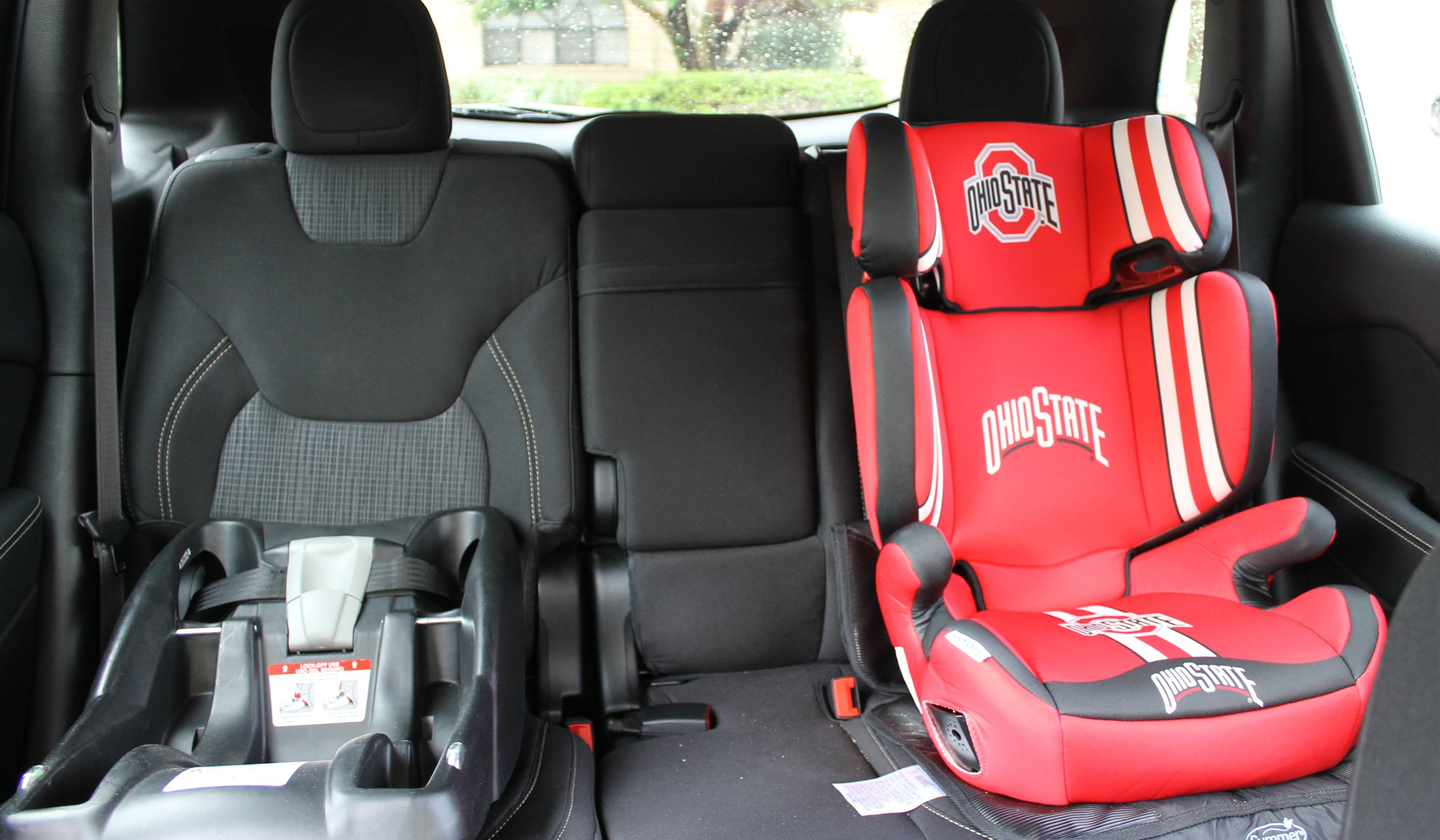 Lil Fan Ohio State Booster Seat For Kids