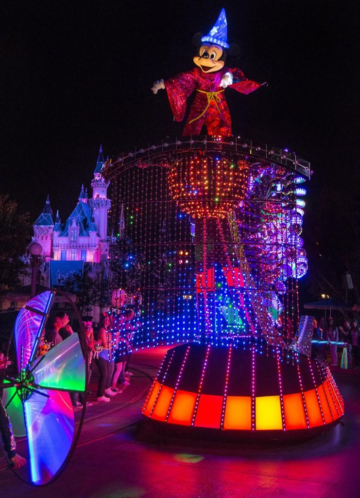 Disneyland's New 50th Birthday Celebration Electrical Parade