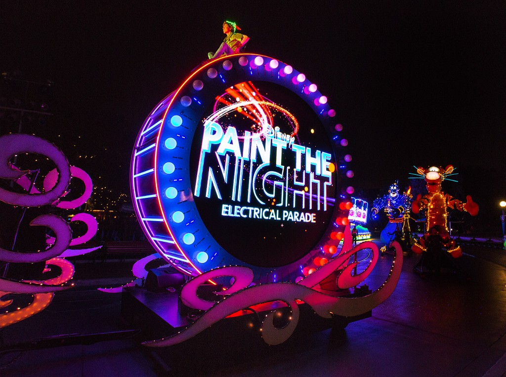 Disneyland's new Paint the Night Electrical Parade