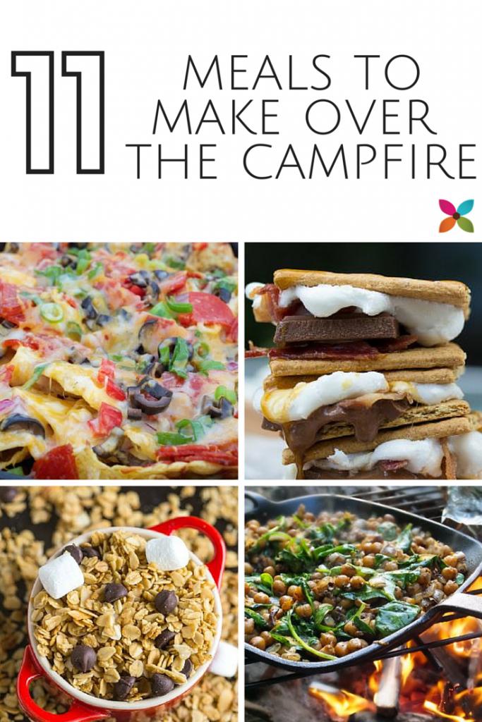 11 Campfire Meals & Desserts