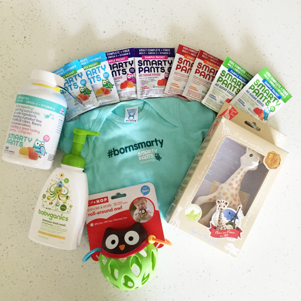 #BornSmarty Kit from SmartyPants Vitamins