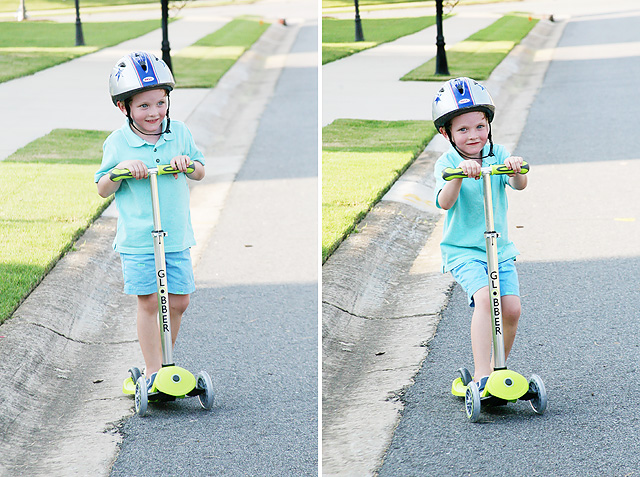 Safety Lock Steering Features on the Globber Scooter for Kids