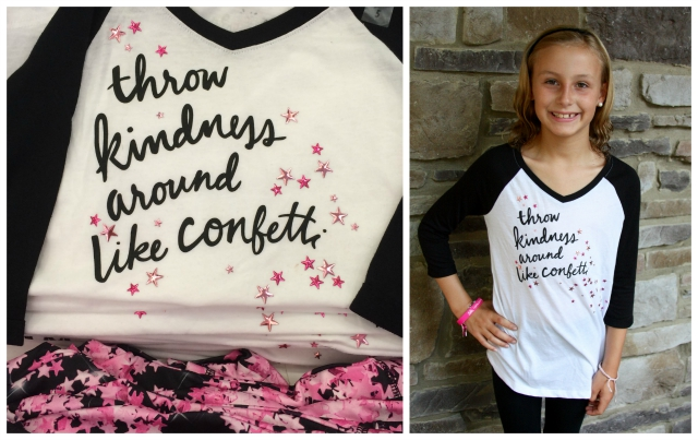 Kindness Tee for Girls from Justice