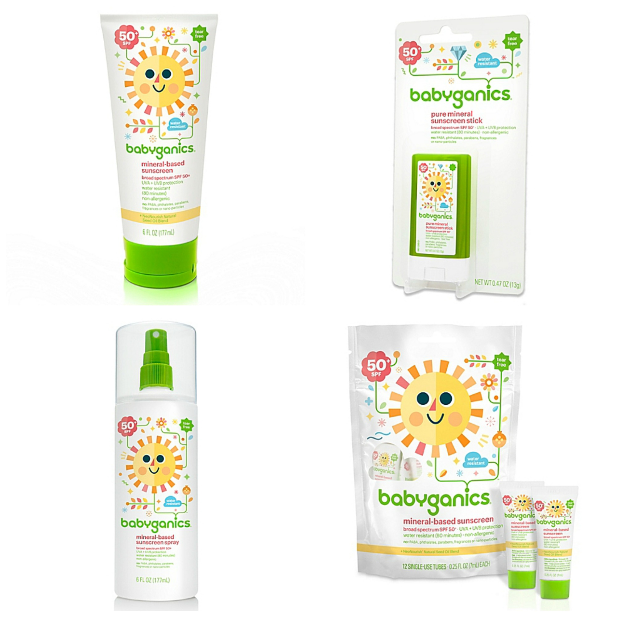 Keeping Baby Safe from the Sun: babyganics Sun Care Products