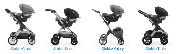 NEW! Stokke & Nuna Stroller Car Seat Partnership