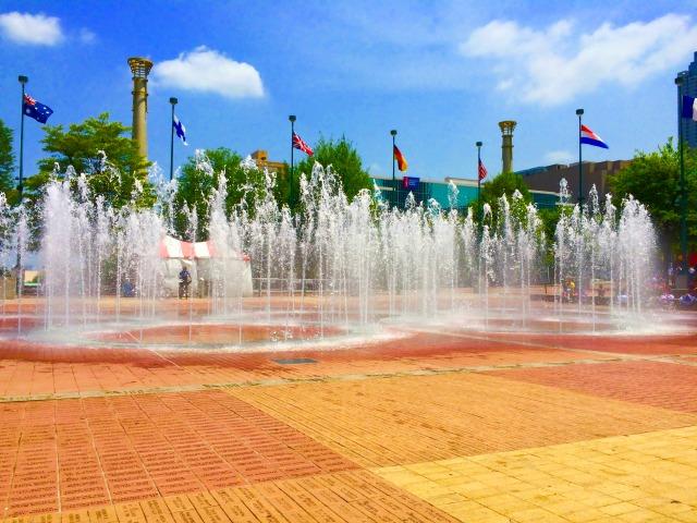 Atlanta City Gems: Olympic Centennial Fountain Park