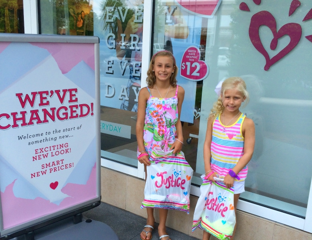 Back-to-School Shopping at Justice