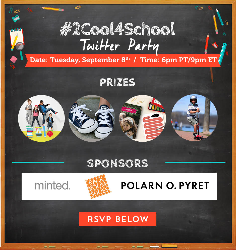 #2Cool4School Twitter Party